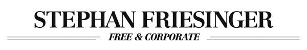 STEPHAN FRIESINGER / Visuelle Kommunikation – Fotografie – Video Produktion – Grafik Design  -
